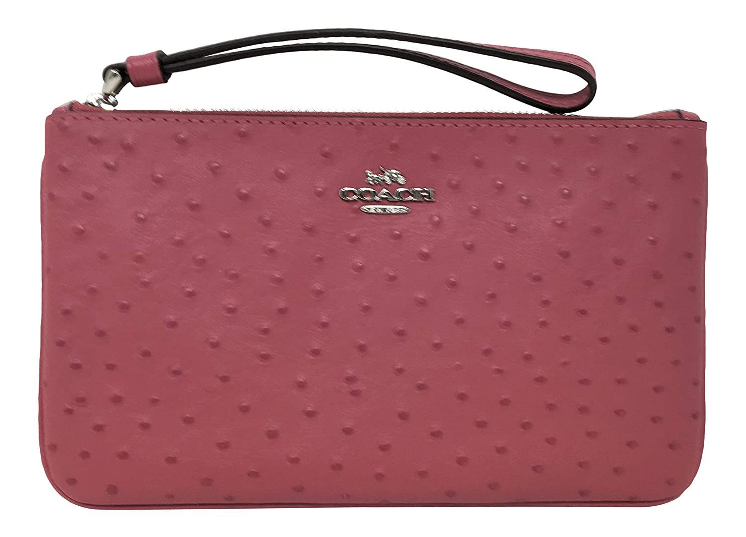 Coach Ostrich Embossed...