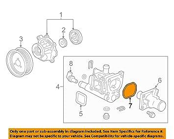 general motors 25189205 engine coolant thermostat gasket engine rh amazon ca