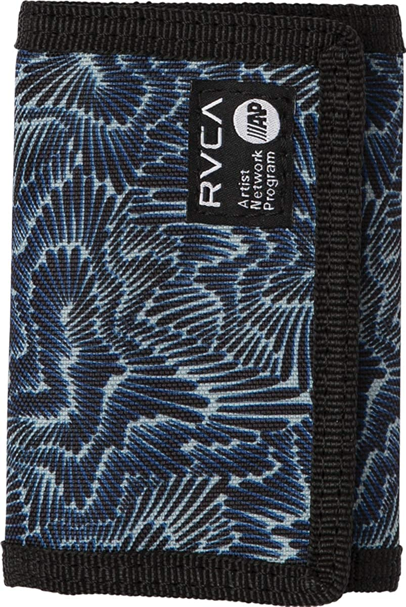RVCA Men's Print Trifold Wallet camo One Size MAWASRPT