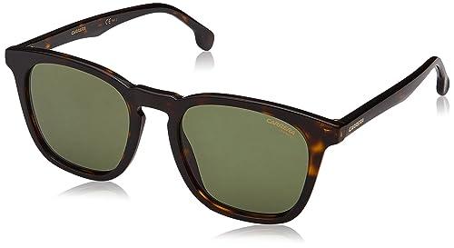 Carrera 143/S QT 086, Gafas de Sol Unisex Adulto, Marrón (Dark Havana/Green), 51