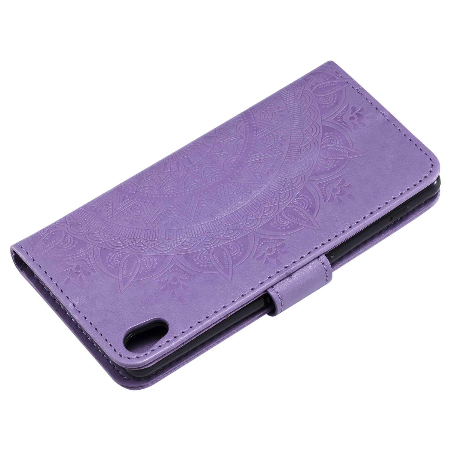 Card Slots Gray Kickstand Function Sony Xperia XA1 Case Flip Notebook Cover for Sony Xperia XA1 The Grafu Leather Case Premium Wallet Case with