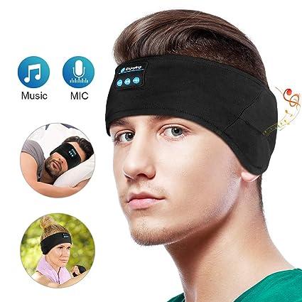 573085703f5 Bluetooth Headbands Music Sports Sweatband,WU-MINGLU Wireless Sleeping  Headphones,Headband Headset for