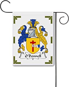 Carpe Diem Designs O'Donnell Coat of Arms/O'Donnell Family Crest 11 X 15 Garden Flag – Made in The U.S.A.