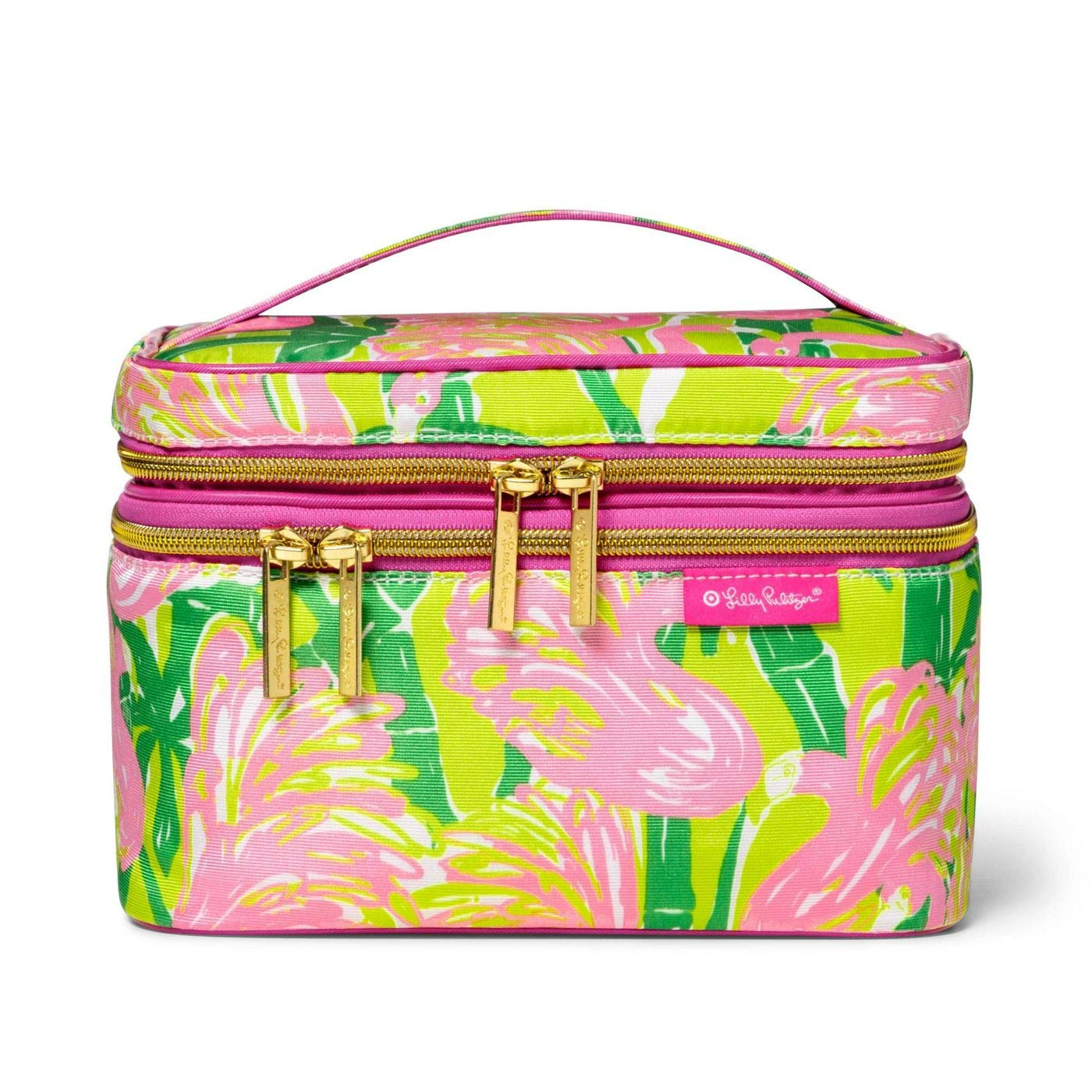 Lilly Pulitzer for Target Double Zip Train Case