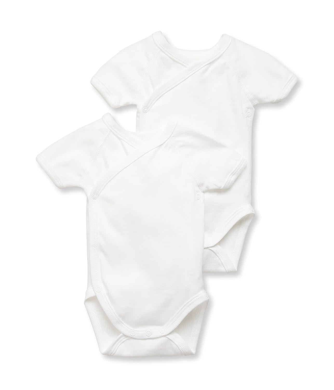 Special Lot 00 00 Multicolour Newborn Petit Bateau Unisex Baby Bodysuit Manufacturer Size: 1 Mese