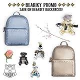 Beariky Boutique Leather Teddy Bears Luxury Bag