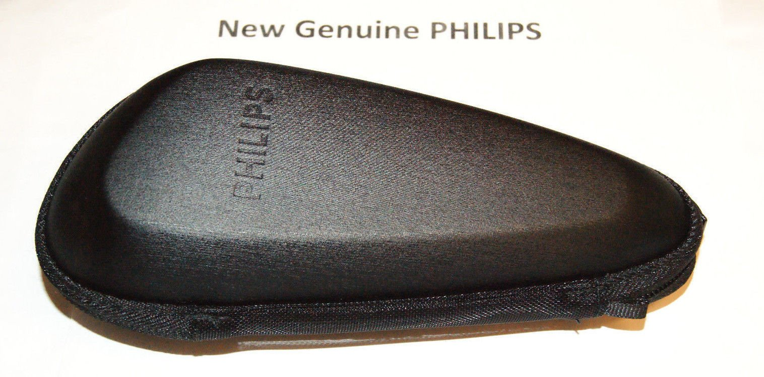 New PHILIPS Case Hard Pouch Travel Cypress For models S9111 S9112 S9121 S9151 S9152 S9161 S9751 S9781 S9911 S9988