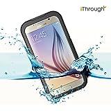 Galaxy S6 Coque Etanche, iThrough™ Galaxy S6 Case Housse Etui Etanche Imperméable, Antipoussière, Anti-neige, Antichoc Avec Ecran Protecteur Etui pour Galaxy S6, S6 Edge