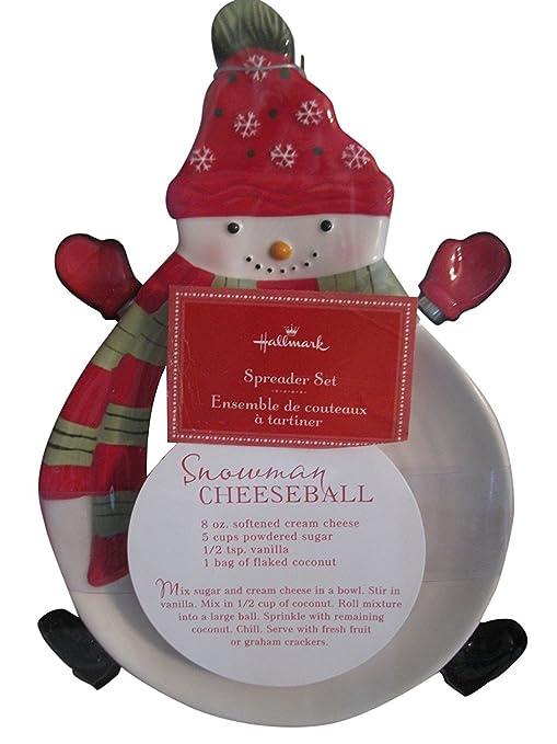 hallmark cheese plate christmas ceramic home decor - Hallmark Christmas Home Decor