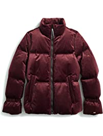 c7115b64acd Tommy Hilfiger Women s Adaptive Puffer Jacket with Magnetic Zipper
