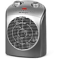 Orbegozo FH 5021 - Calefactor, termostato regulable, 2 niveles de potencia, función…