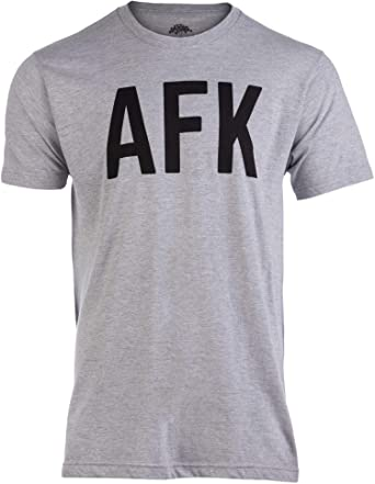 Ann Arbor T-shirt Co. AFK | Away from Keyboard, Funny Video Gamer ...