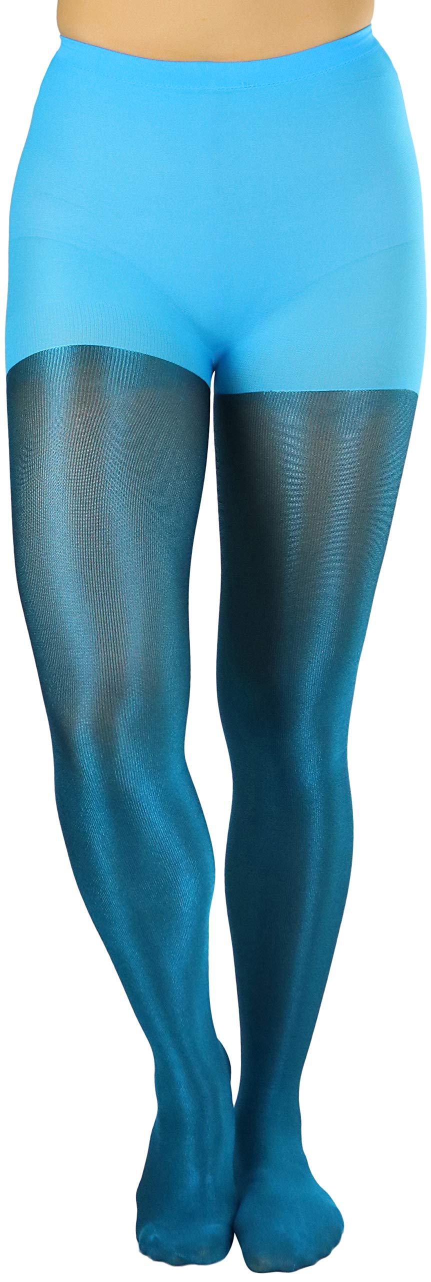 ToBeInStyle Women/'s Shiny Metallic Pantyhose