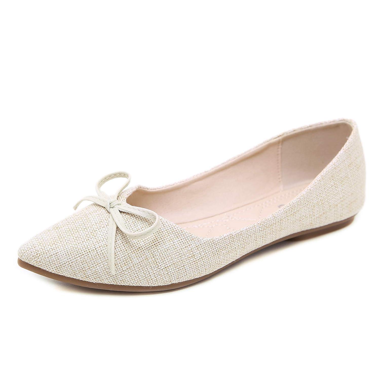 Morbuy Bailarinas para Mujer, Zapatos Bailarinas Básicas Planas de Mujer Zapatos de Primavera Verano Otoño