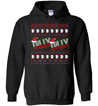dilly dilly ugly christmas sweater beer drinker hoodie
