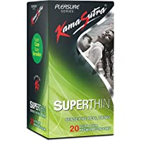 Kama Sutra Superthin Condoms - 20 Condoms