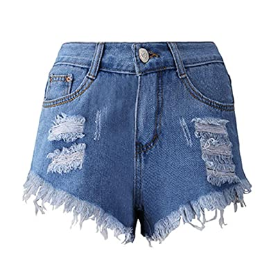 69d042605e6e38 Denim Shorts,Ba Zha 🌴 Womens High Waisted Shorts Stretch Denim Jeans with  Pockets Denim Shorts Jeans Skinny Summer Beach Hot Pants Slimming Butt  Lifting ...
