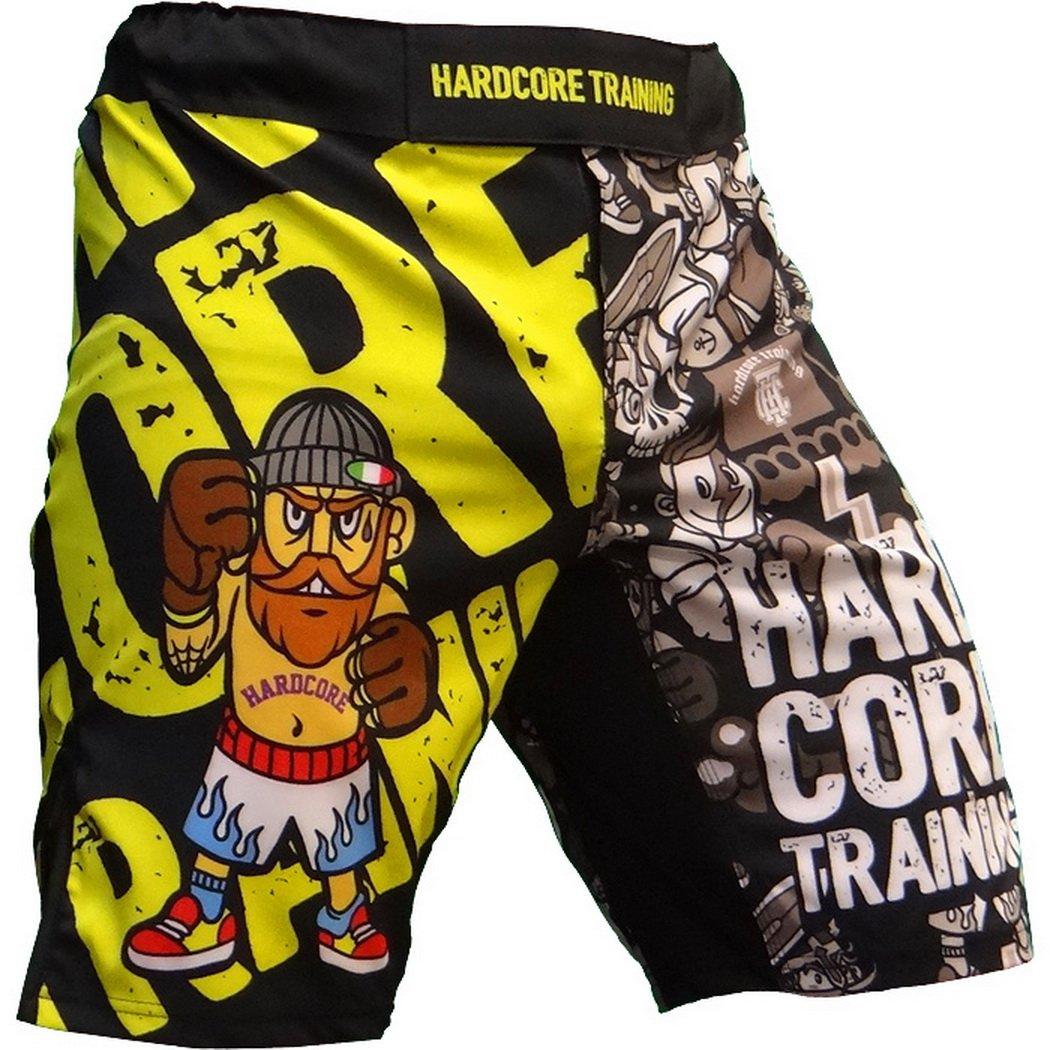 Shorts Hardcore Training Doodles Uomo Pantaloncini Fitness MMA