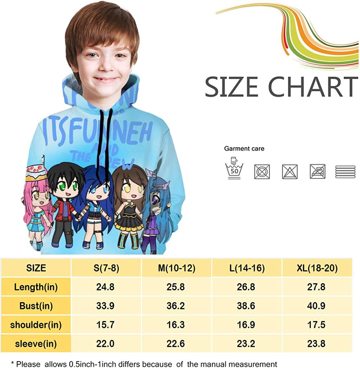 NFEMNEO Ghostbu-sters 2 Teen Hooded Sweatshirt Casual Pullover with Pockte Drawstring Hoodies Sweater for Boys Girls