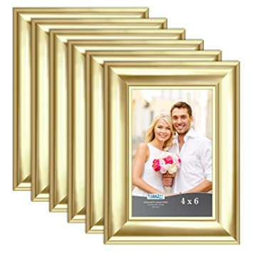 Amazon.com: Icona Bay Marco de fotos 4x6, 5x7, 8x10, 11x14 ...