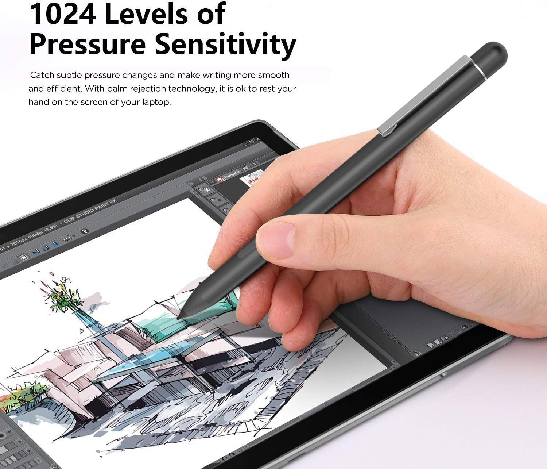 ASUS VivoBook E201NA 11.6 Inch Broonel Black Mini Fine Point Digital Active Stylus Pen Compatible with The ASUS VivoBook E12 E203MA 11.6 Inch