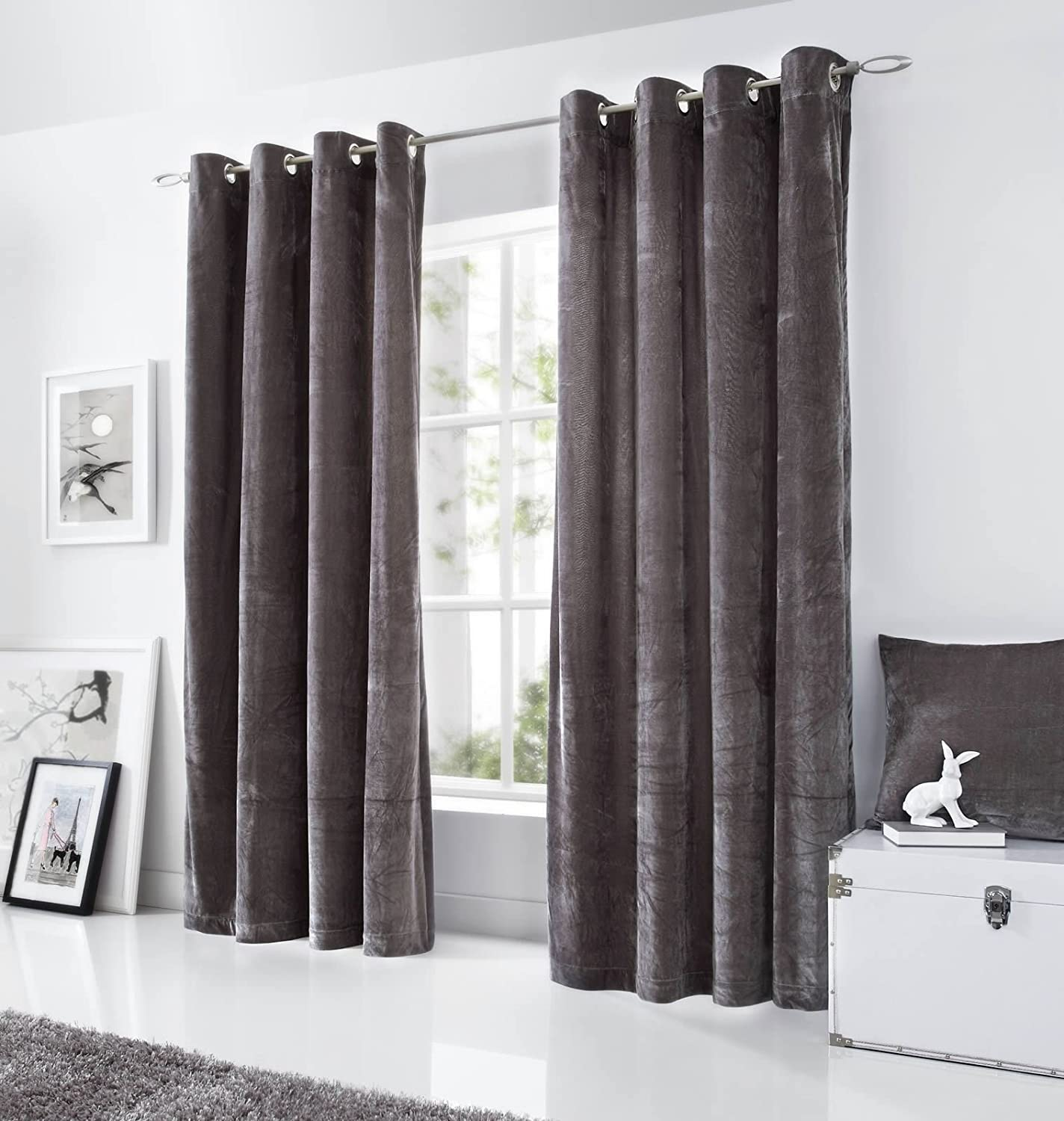 beige curtains crushed blackout charcoal on bedroom turquoise velvet dark the best grey white pink and ideas purple