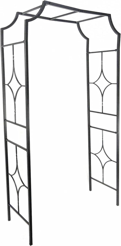 Gardman R978 Blacksmith Arch, Black, 48 Wide x 89 High x 20-1 2 Deep