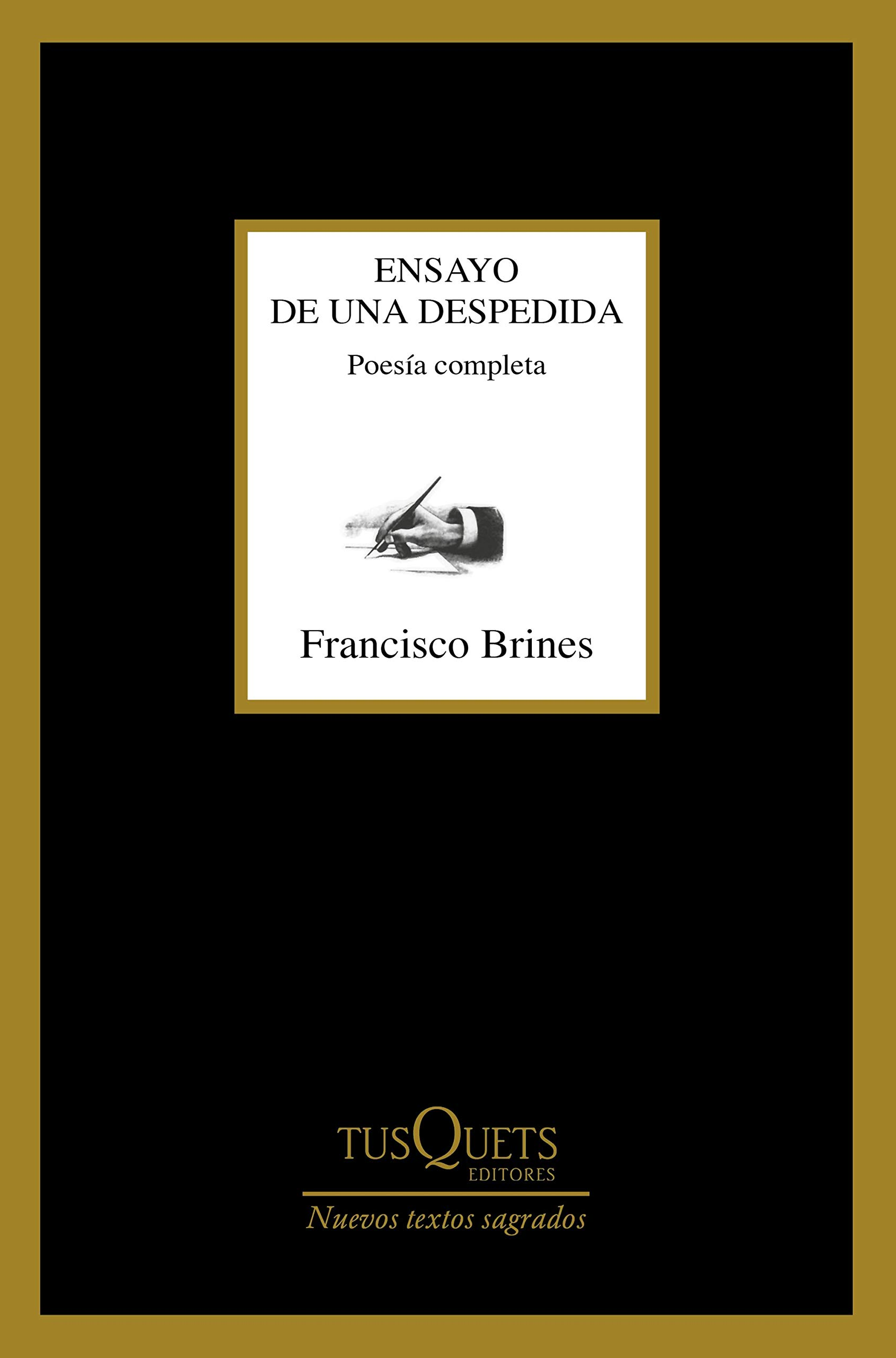 Ensayo de una despedida, de Francisco Brines - Libros para leer el Día de la Poesía