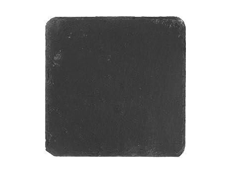 Piatti Cucina In Ardesia : H h piatto quadrato ardesia nero amazon casa e cucina