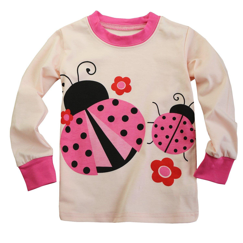Fancyinn Kinder Schlafanzug Meerjungfrau Festlich Pyjama Baumwolle ...