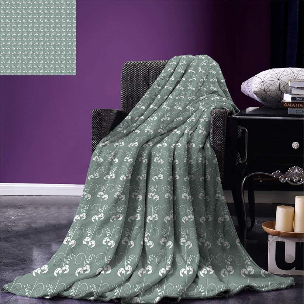 40 by 30-Inch Kess InHouse Alias Luna Black Gray Fleece Throw Blanket 40 X 30