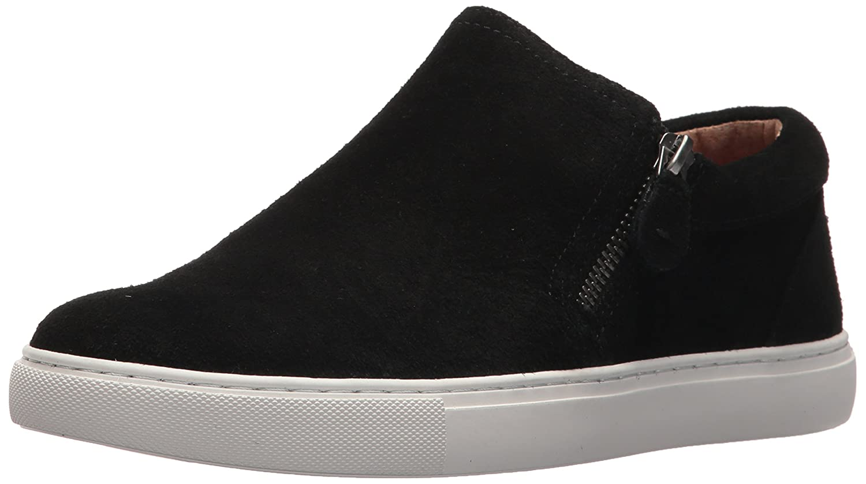 Gentle Souls Women's Double Zip Low Profile Sneaker B075ZY7V9F 7 B(M) US Black