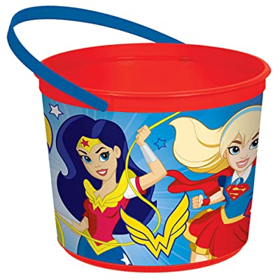 Favor Container | DC Super Hero Girls™ Collection | Party Accessory: Toys & Games