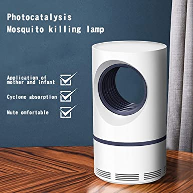 Lámpara Antimosquitos,ZARLLE Trampas para Insectos ...