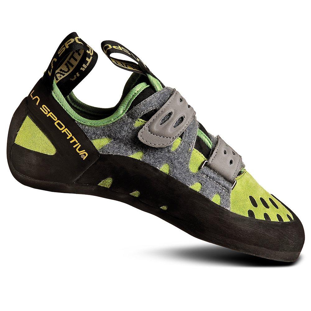 La Sportiva Men's Tarantula Climbing Shoe, Kiwi/Grey, 40.5 by La Sportiva