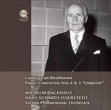 ベートーヴェン : ピアノ協奏曲第4&5番 / ヴィルヘルム・バックハウス、シュミット=イッセルシュテット、ウィーン・フィル (Beethoven : Piano Concerto No.4&5 / Backhaus,Schmidt Isserstedt&VPO) [CD] [国内プレス] [日本語帯・解説付]
