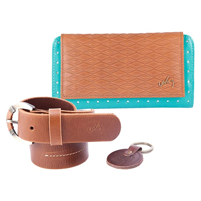 Velez Women Genuine Full Grain Leather Soft Bifold Small ...