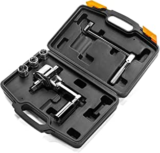 """XtremepowerUS Torque Wrench Multiplier Lug Nut Labor Saving Wrench Remover Set (1/2"""" DR) w/ Carrying Case"""