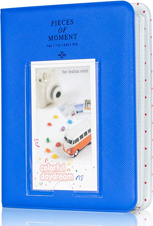 Kodak Mini 3-Inch Film with Colorful Stickers Tulip Polaroid Snap PIC-300 HP Sprocket Amimy 84 Pockets Photo Album for Fujifilm Instax Mini 7s 8 8+ 9 25 50s 70 90
