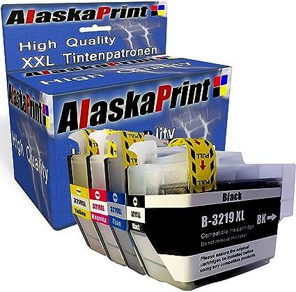 Alaskaprint LC3219XL Compatible Cartuchos de Tinta Reemplazo para ...