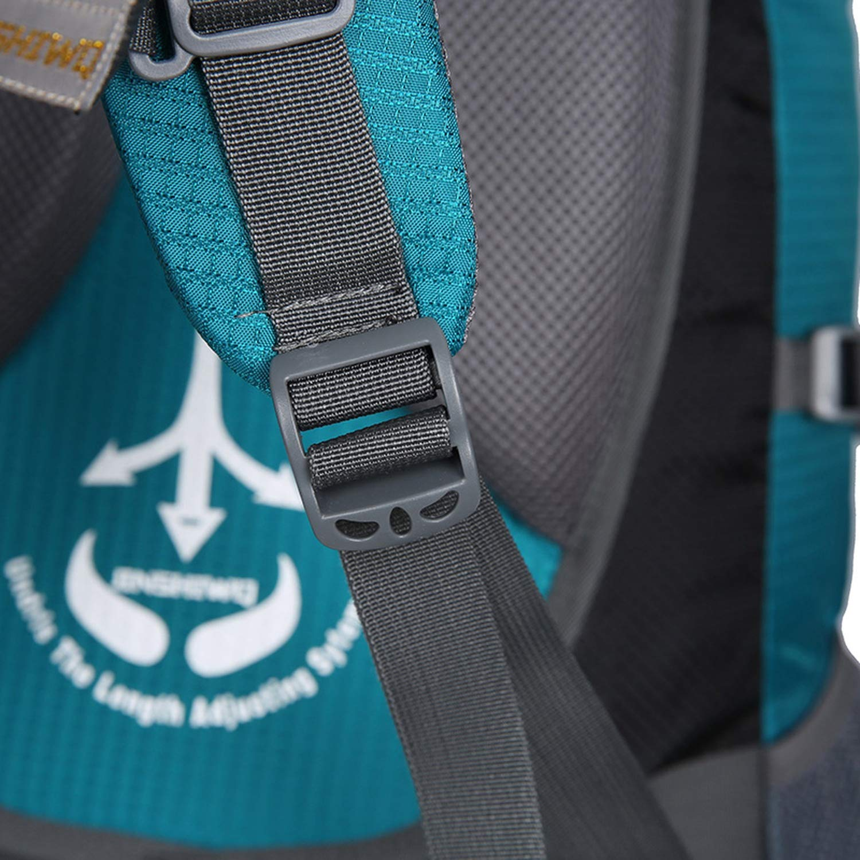 d3cd0c8f2a85 Blau A One Größe 80L Camping Hiking Backpacks Big Big Big Outdoor ...