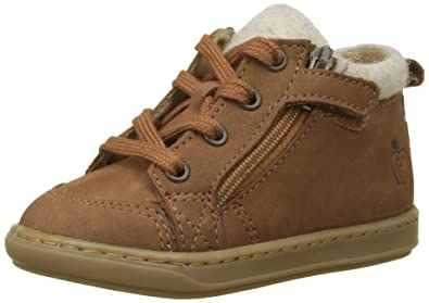 549630d573f5 Shoo Pom Baby Boys  First Walking Shoes Brown Size  4 UK