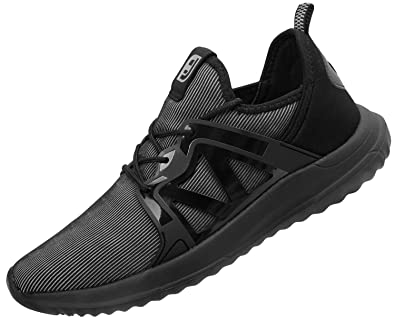 5e41b06830d91 Spesoul Mens Sneakers Fashion Lace Up Lightweight Breathable Athletic  Running Walking Shoes