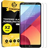 [2 Pack] LG G6 Screen Protector, Nearpow [Tempered Glass] Screen Protector with [9H Hardness] [Crystal Clear] [Bubble-Free Installation] [Scratch Resist]