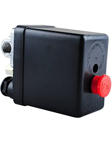 Wadoy Central Pneumatic Air Compressor Pressure Switch Control Valve Replacement for Parts 90-120 PSI