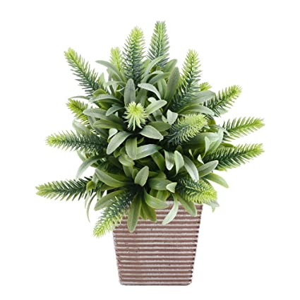 office pot plants.  Office Fake Potted Plants GTIDEA Artificial Greenery Bonsai Faux Plastic House  Plants For Bathroom Home Kitchen Intended Office Pot