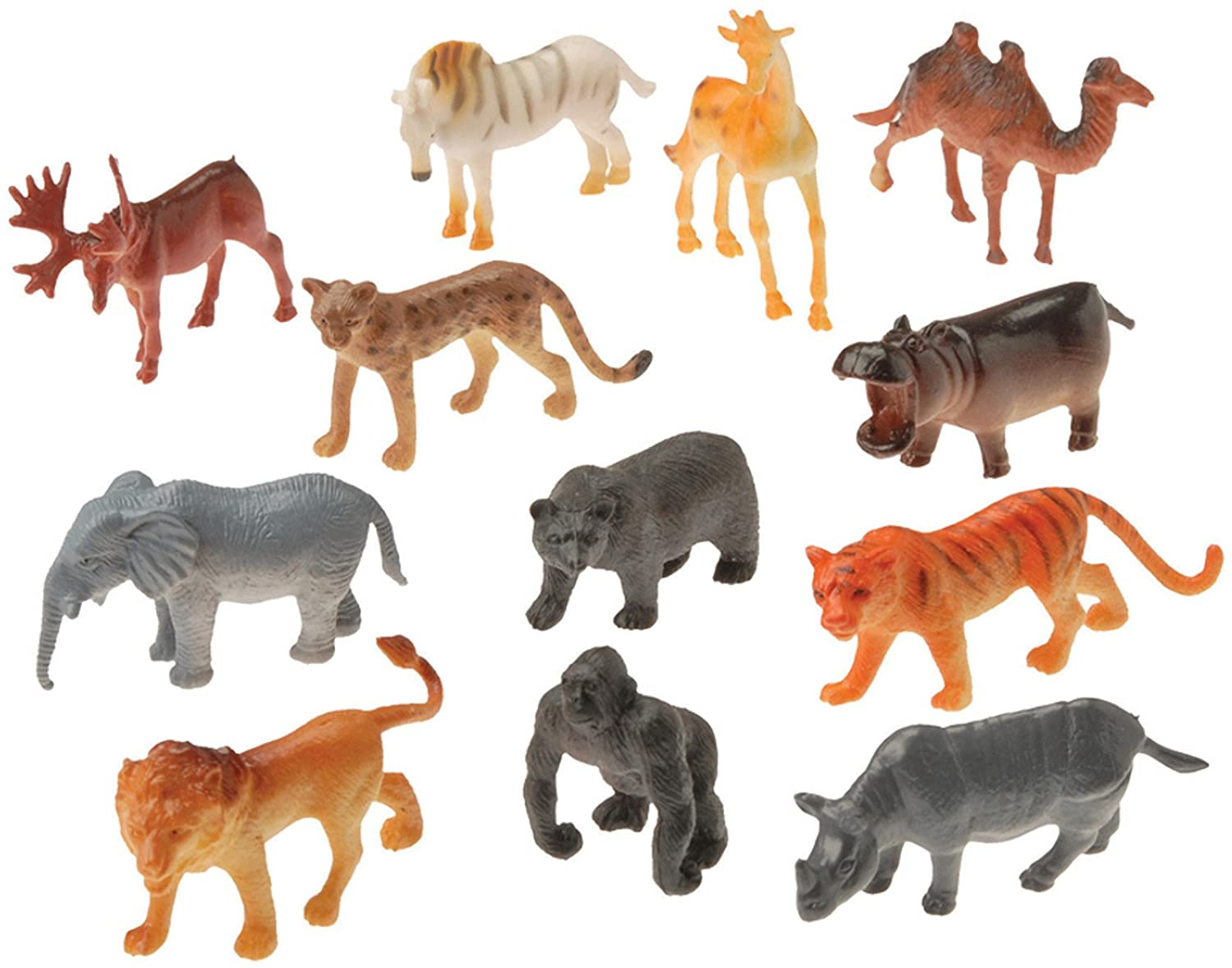 Us Toy Mini Wild Animals Action Figure by U.S. Toy