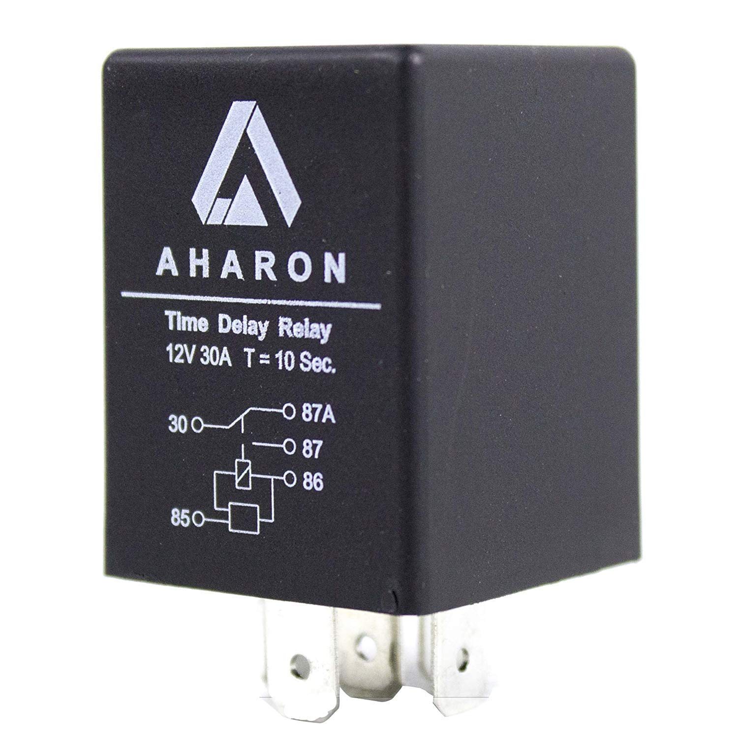 Time Delay Relay 10 Seconds 5 pin 12V 30A 5 pin SPDT