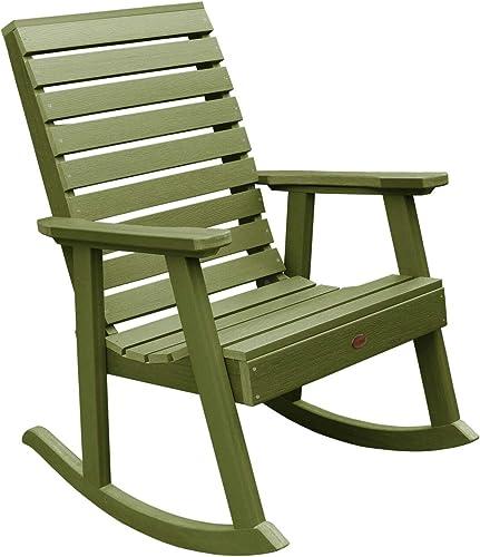 highwood AD-RKCH2-SGE Weatherly Rocking Chair, Dried Sage