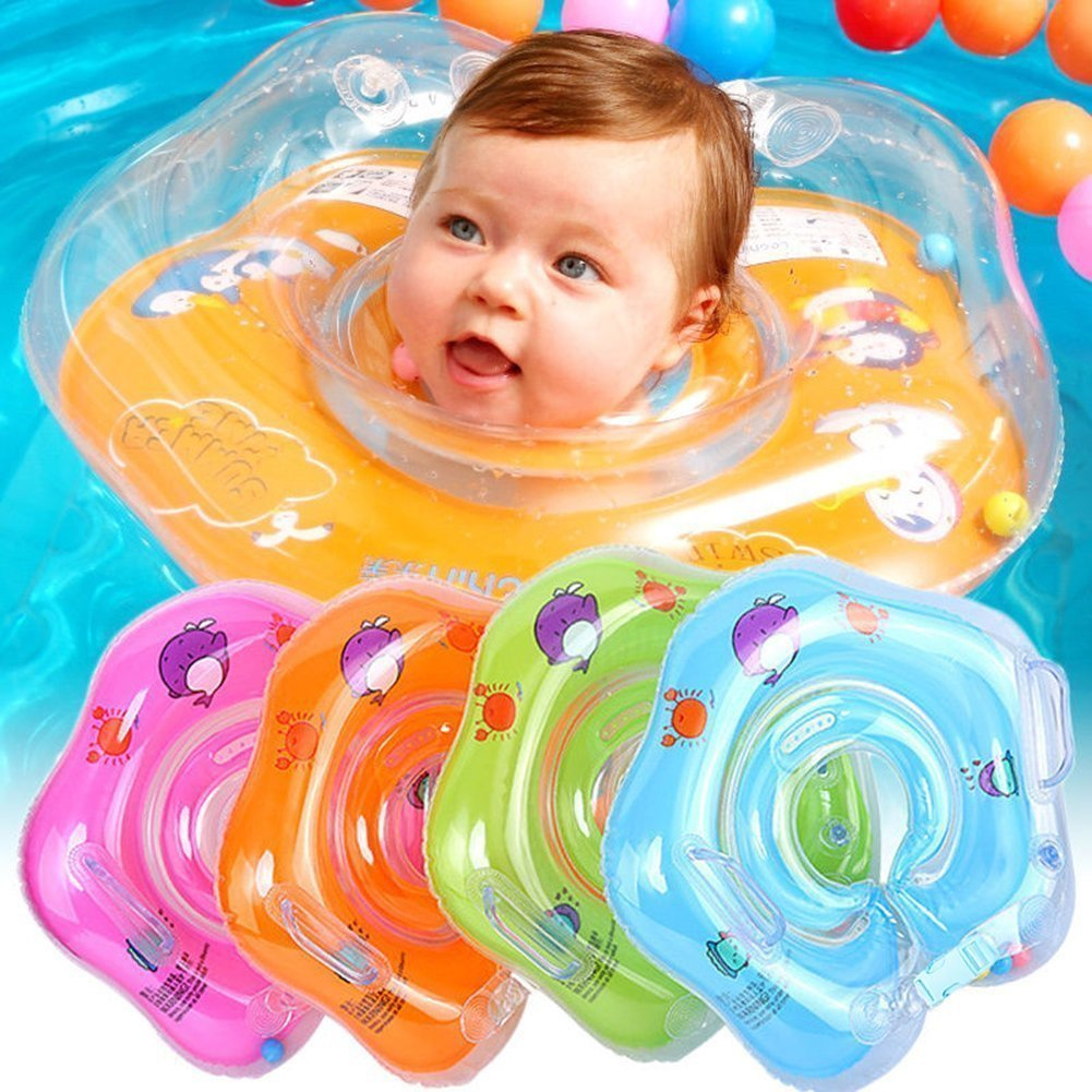 Product details of new inflatable floating swim ring kids children toy - Baby Float Newjoy 1 18 Months Baby Floating Swim Ring Inflatable Swimming Neck Safety Ring Baby Floats Amazon Canada